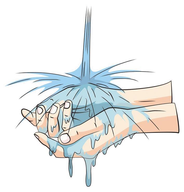 频繁洗手你的皮肤受伤了吗?