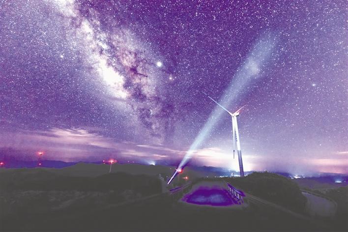 去羊峰山看星星