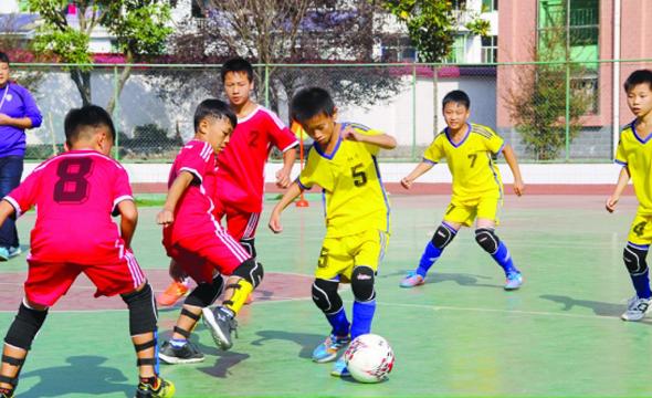 古丈县举行首届中小学生足球运动会