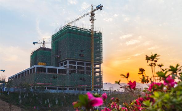 湘西州建州60周年重点工程——金融投资服务中心
